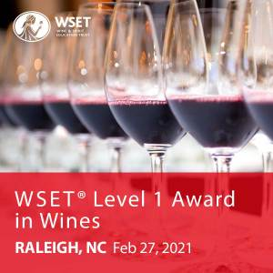 vitis house wset level 1 award in wines