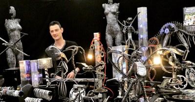 sculpteur sur métal artiste Victor Dulin Vito perpignan