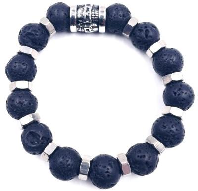 Bracelet pierre de Lave VitoArtMétal
