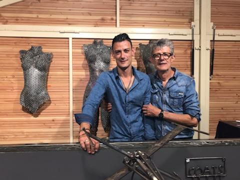 Sculpture sur métal : l'interview de l'artiste Vito … Art Métal