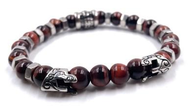 bracelet oeil du tigre Vito Art Metal