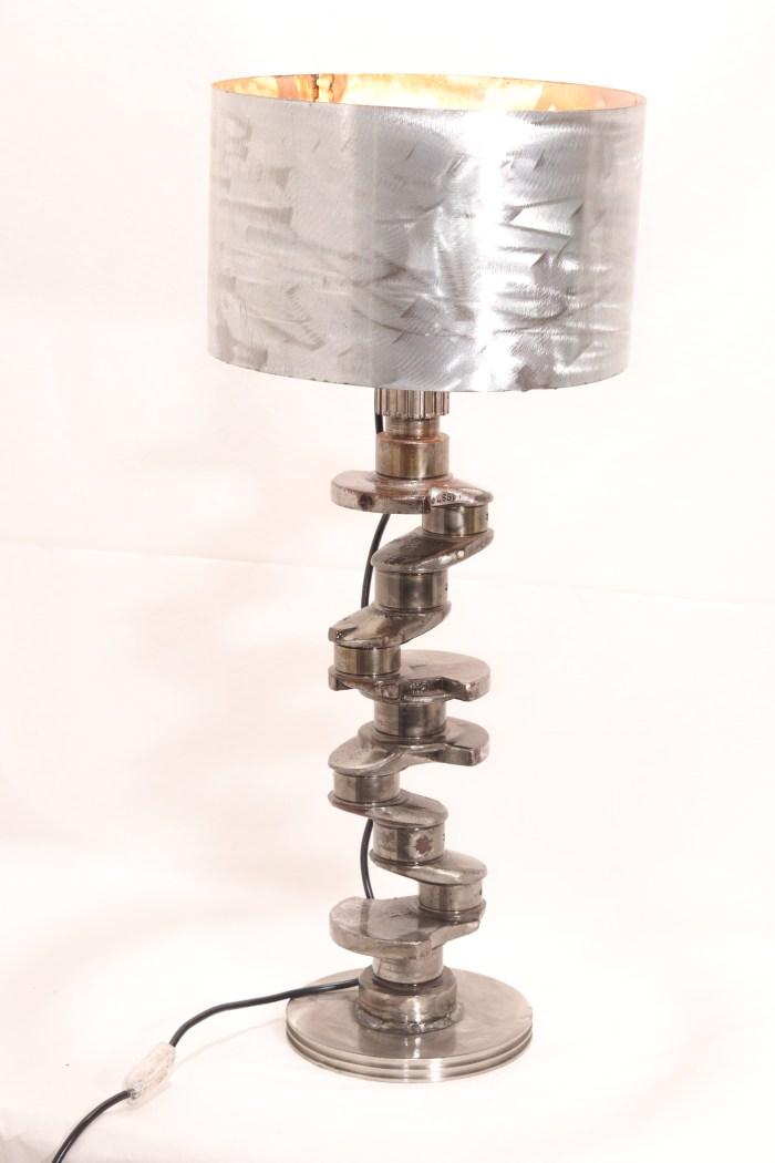 lampe vilebrequin vito Art Métal