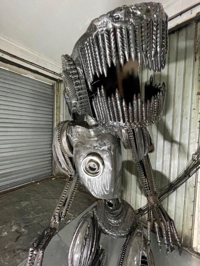 Alien xénomorphe vitoartmetal