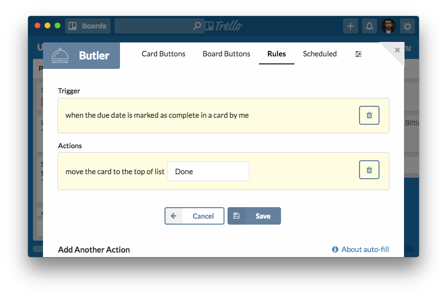 Butler: Trello Power-Up