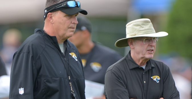 With Coughlin being Coughlin, Marrone already looks like a short-timer