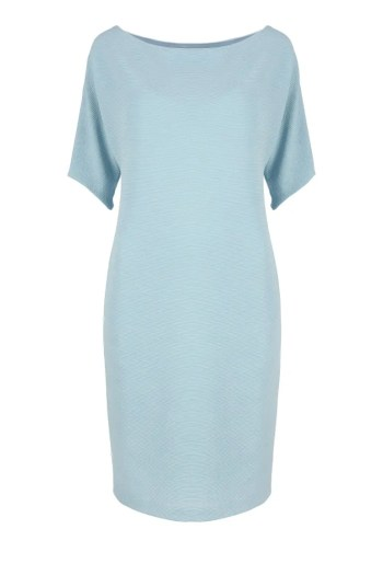 błękitna sukienka dzianinowa Vito Vergelis