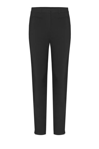 czarne elastyczne spodnie damskie z elastanem polskiej marki Vito Vergelis