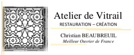 Atelier de vitrail Christian BEAUBREUIL