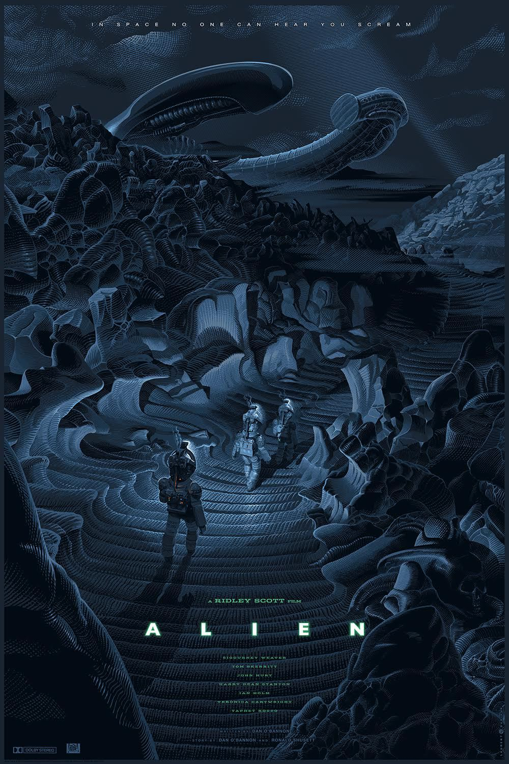 Alien, por Laurent Durieux