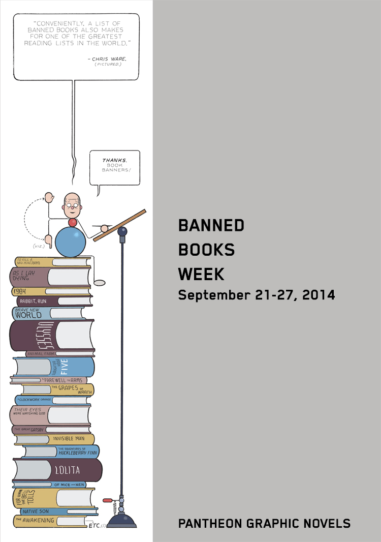 Banned Books Week, por Chris Ware