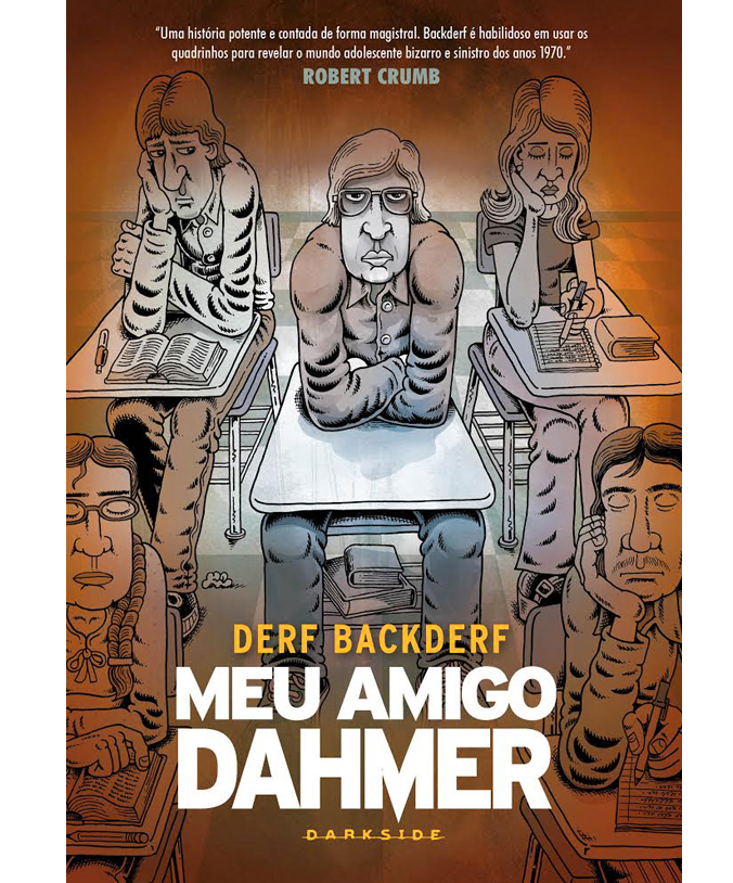 DarkSide Graphic Novel: o selo de quadrinhos da DarkSide Books será inaugurado com Meu Amigo Dahmer (Derf Backderf), Fragmentos do Horror (Junji Ito) e Wytches (Scott Snyder e Jock)