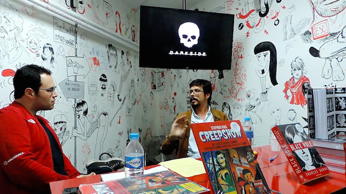 Uma conversa com Bruno Dorigatti sobre Black Hole, Creepshow e as HQs da DarkSide Books