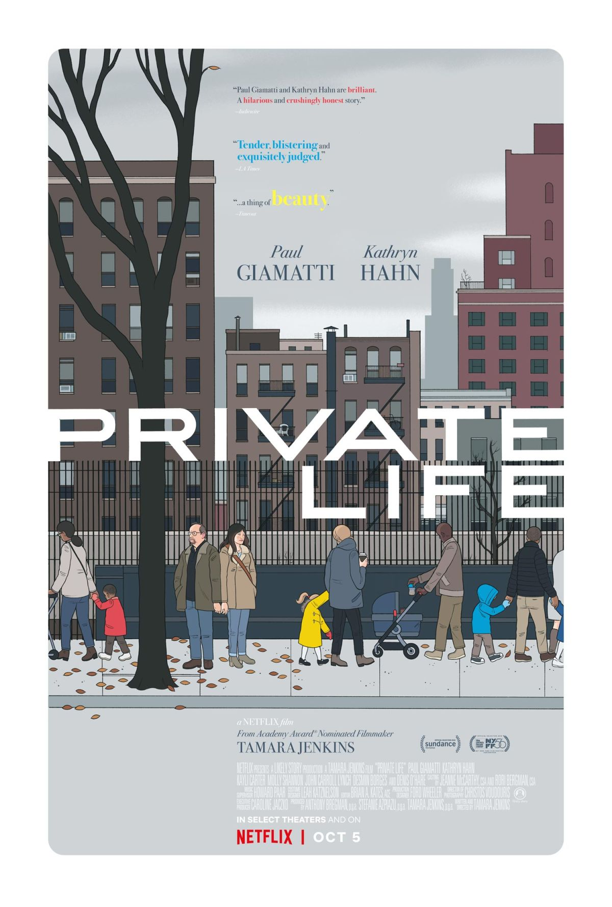 Private Life, por Chris Ware