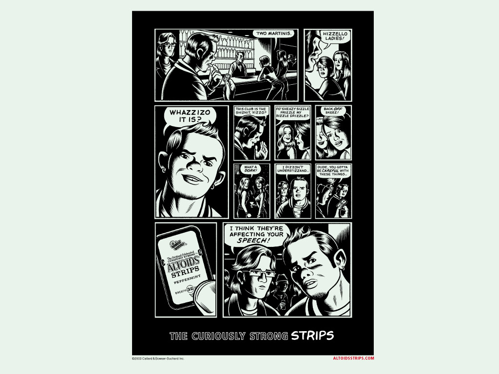 Altoids, por Charles Burns