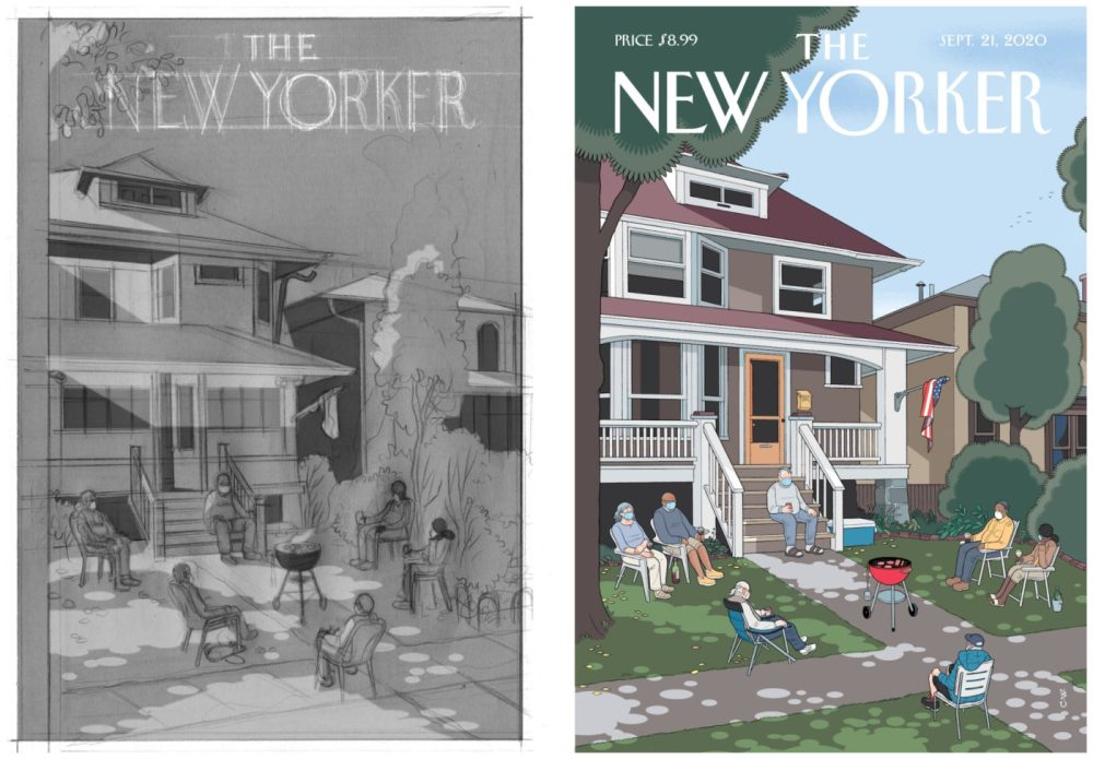 Last Days, por Chris Ware