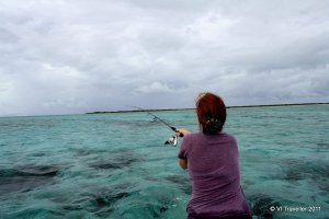Fishing on Anegada