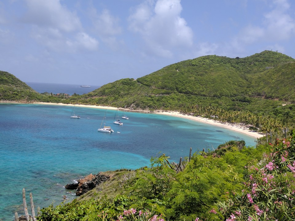 Deadmans Bay Peter Island, BVI