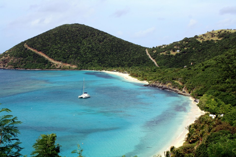 White Bay on Jost Van Dyke