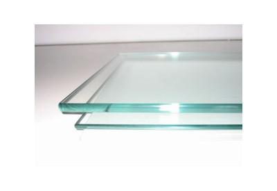verre sur mesure dessus de table en verre trempe