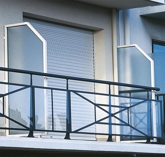 Séparation de terrasse