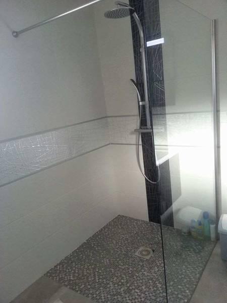 charniere porte douche italienne
