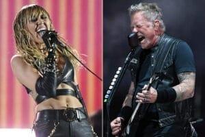 Miley Cyrus-Metallica-vitrina rock