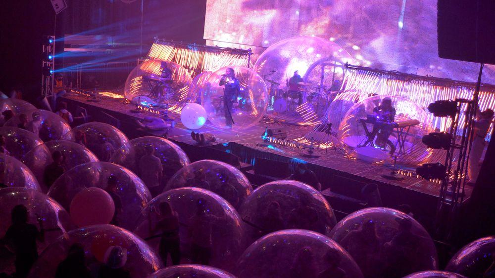 concierto de burbujas