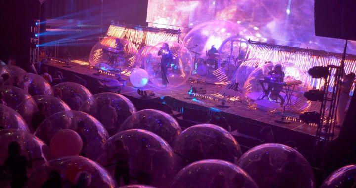 ¿Irías a un concierto metido en una burbuja? Mira de qué hablamos