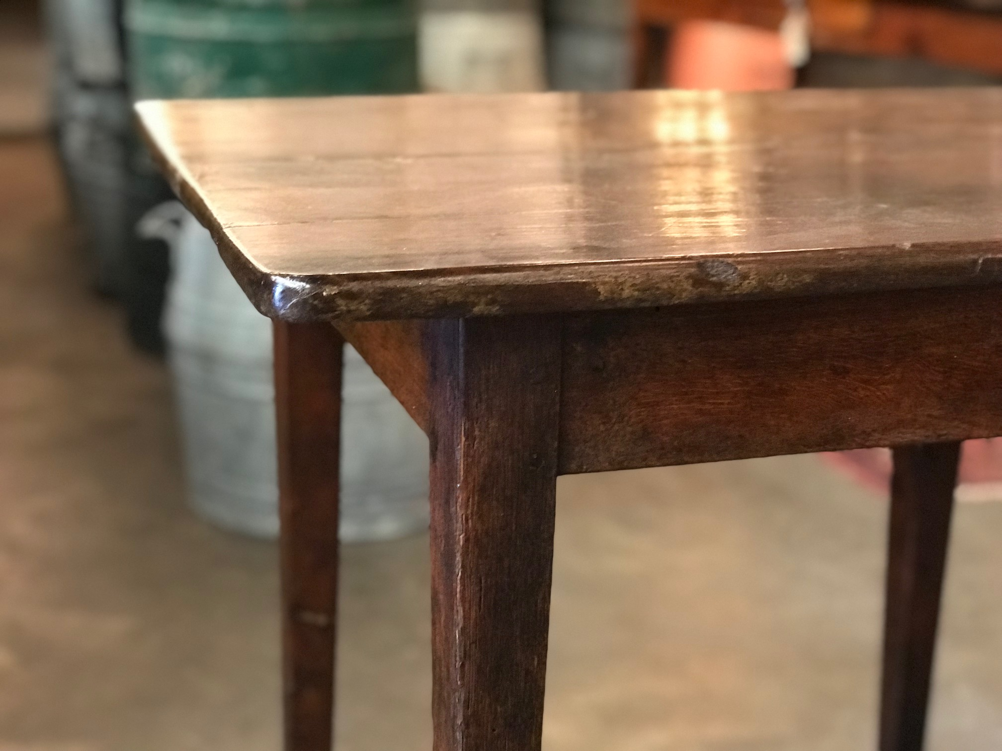 antique kitchen tables update french table side or desk in consoles previous next
