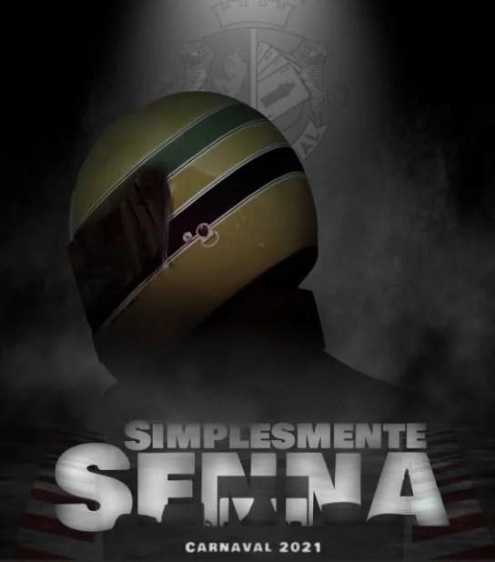 Pisando fundo na avenida virtual, Ases Imperial fará um tributo ao ídolo Ayrton Senna