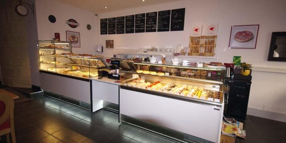 Vitrine boulangerie