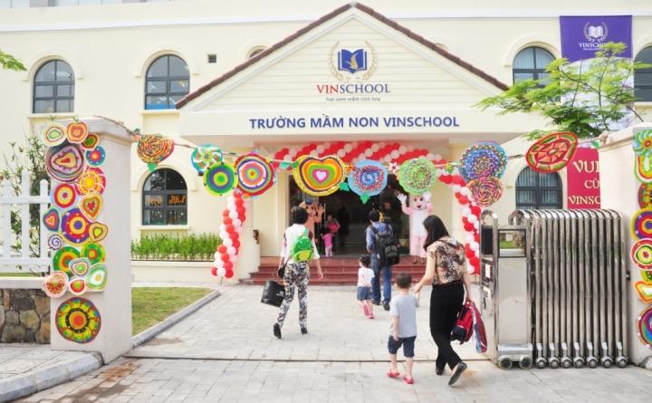 Hình ảnh: Trường Mẫu giáo Vinschool Vinhomes Paradise Mễ Trì