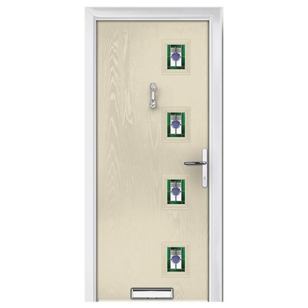 ξύλινη πόρτα εκρού