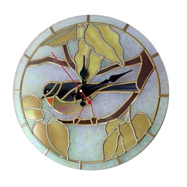 χειροποίητο ρολόι τοίχου