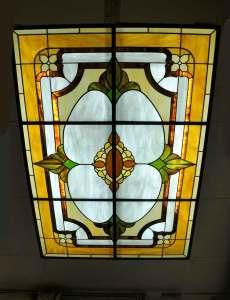 οροφές φωτισμός βιτρώ