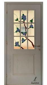 ξυλινη πορτα εσωτερικη