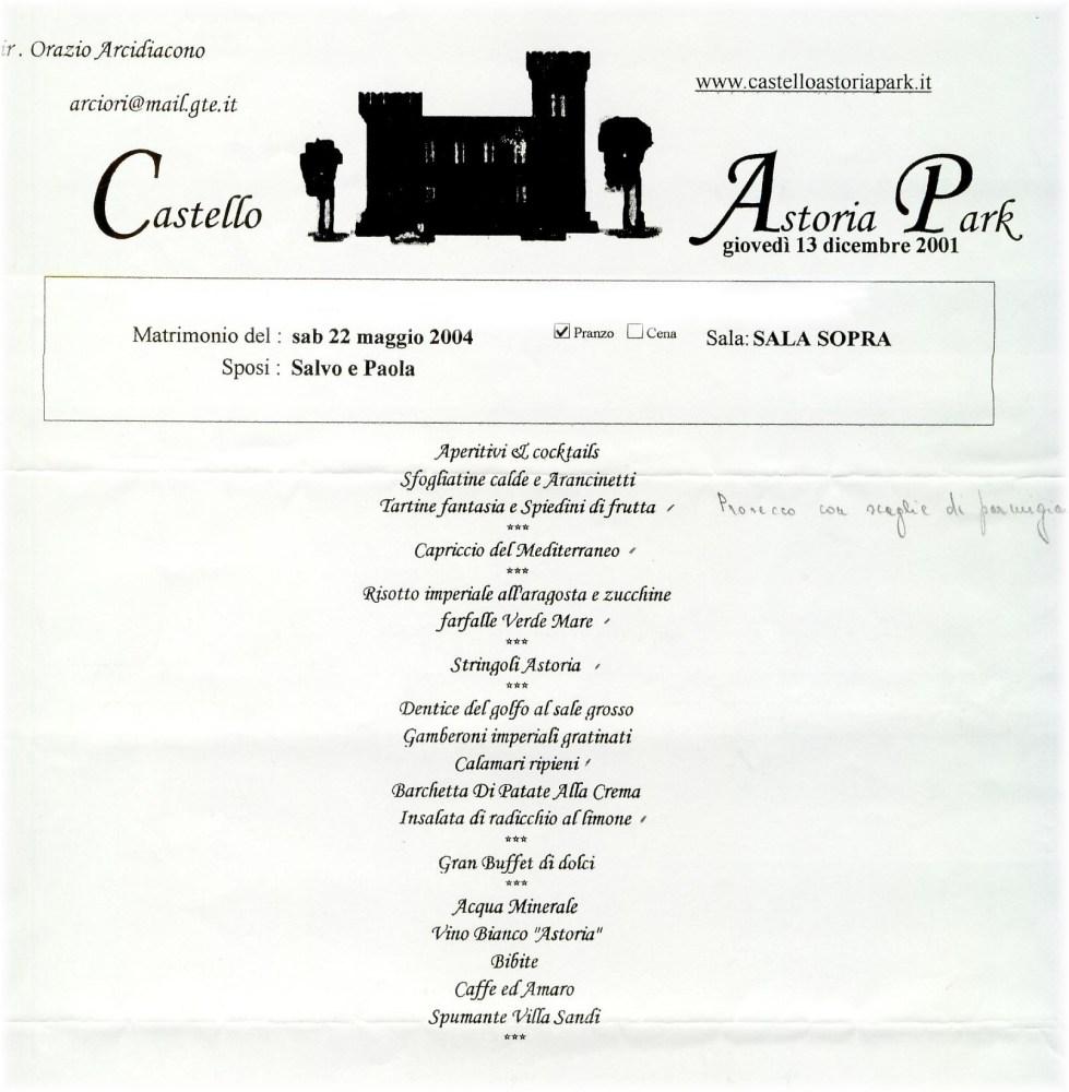 22 Maggio 2004: il matrimonio religioso di Paola e Salvo. (2/4)