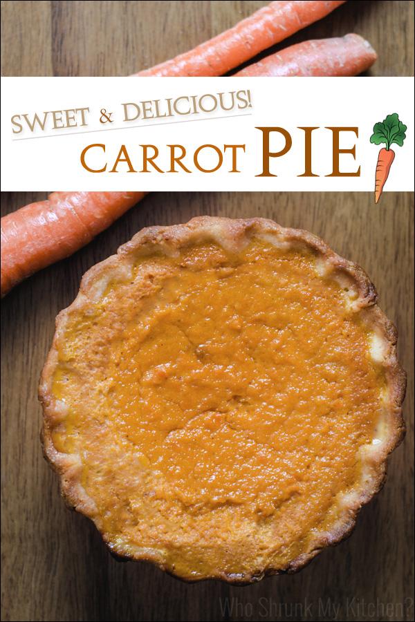 Sweet Carrot Pie