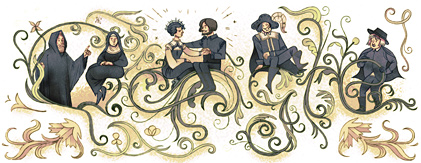 doodle Google Alessandro Manzoni