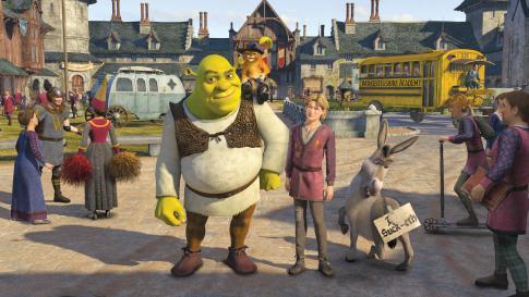 Shrek 3 - fotograma