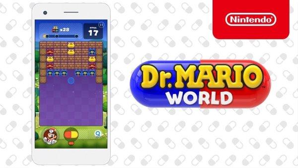 Finalmente disponibile al download Dr. Mario World su App Store
