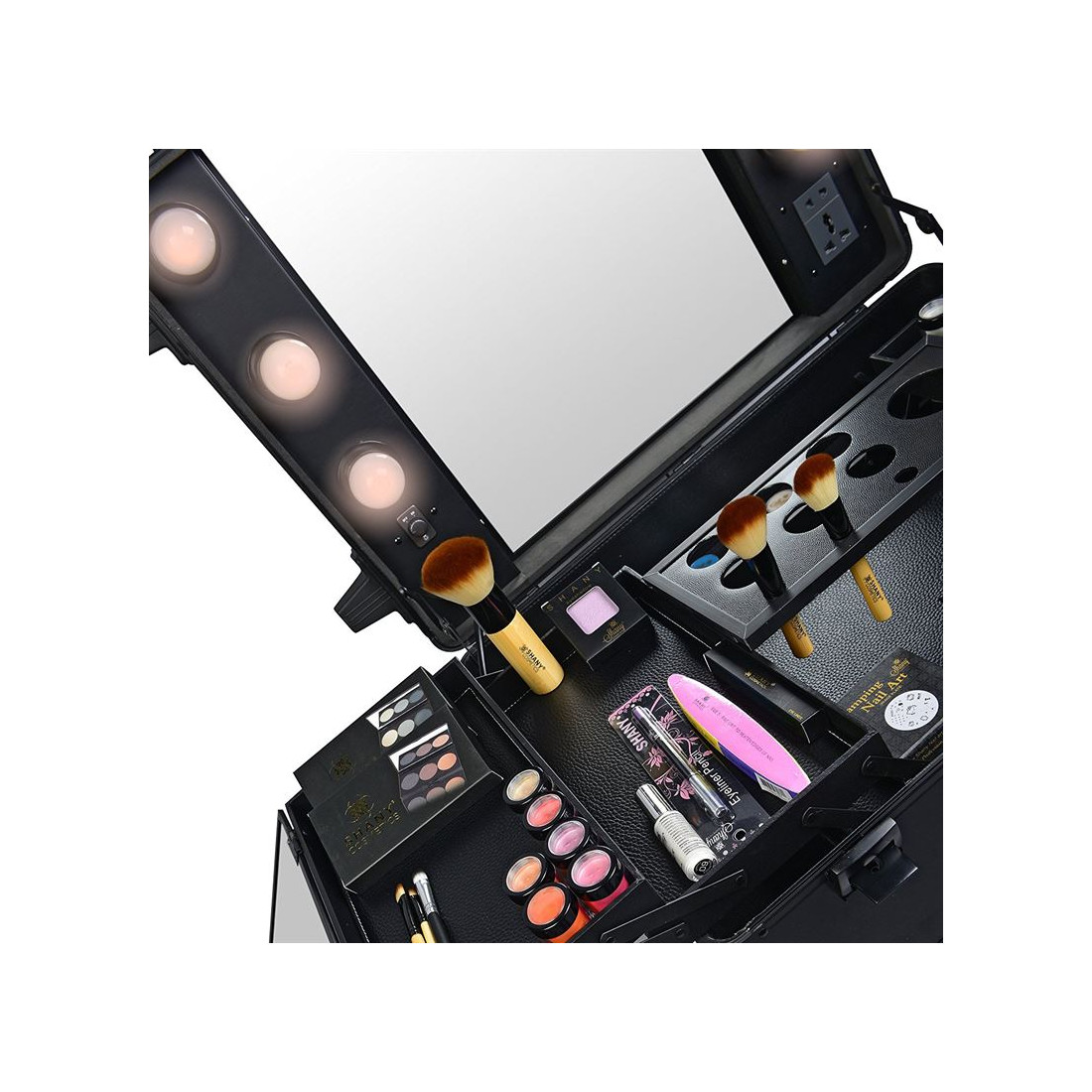 Pro Studio2go Makeup Bord Med Hollywood Led Spejl Og
