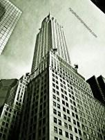 Chrysler Building NYC Art Photo #NYCPI Stamp