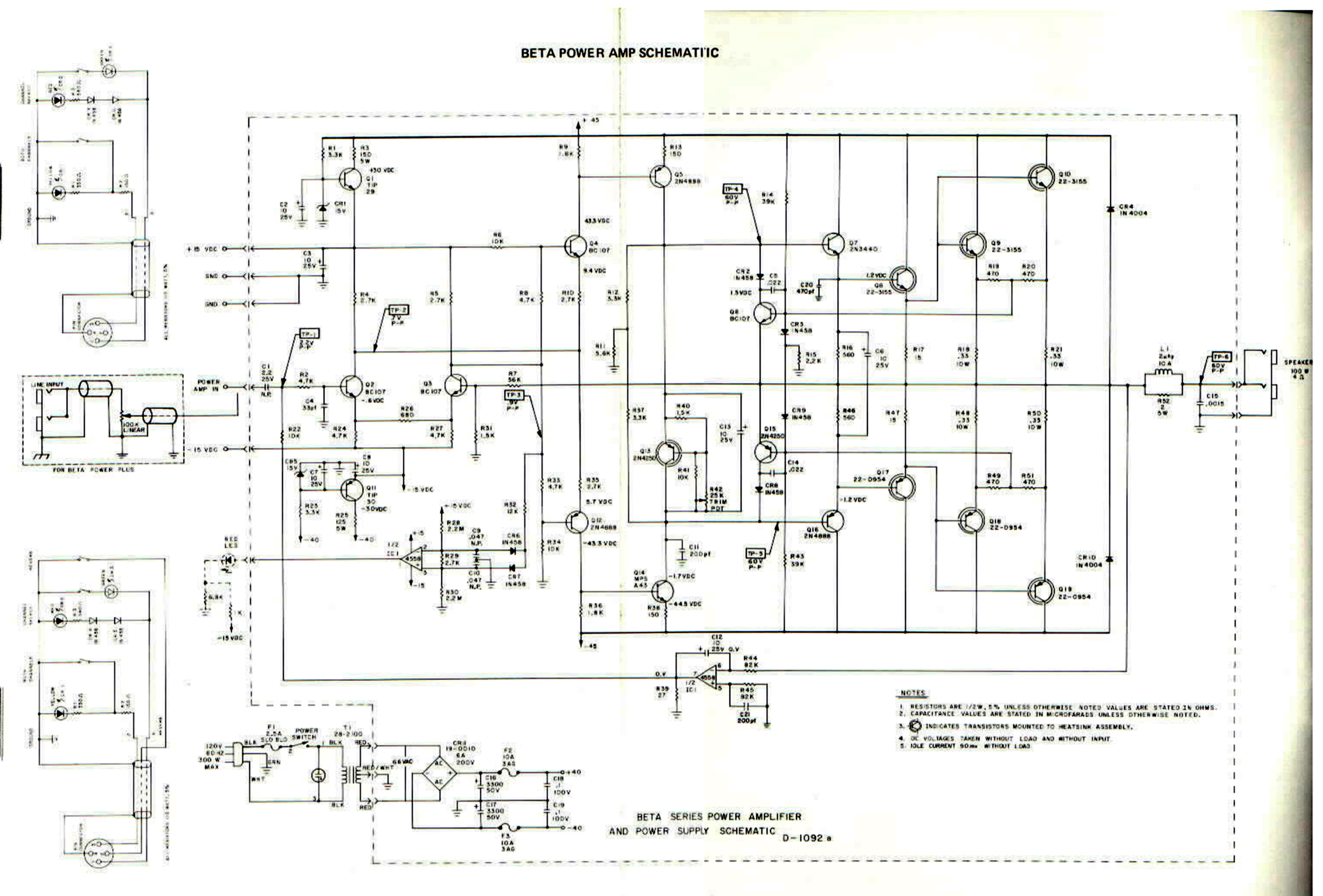 Sunn Amp Schematic Auto Electrical Wiring Diagram For Mercury 150 Xr2