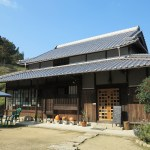 Japanese old folk house cafe in Awaji Island