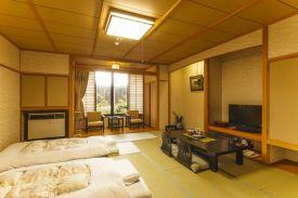 Hot-spring inn futon