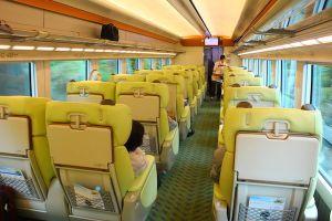 Kansai Kintetsu Express Shimakaze Premium Seat