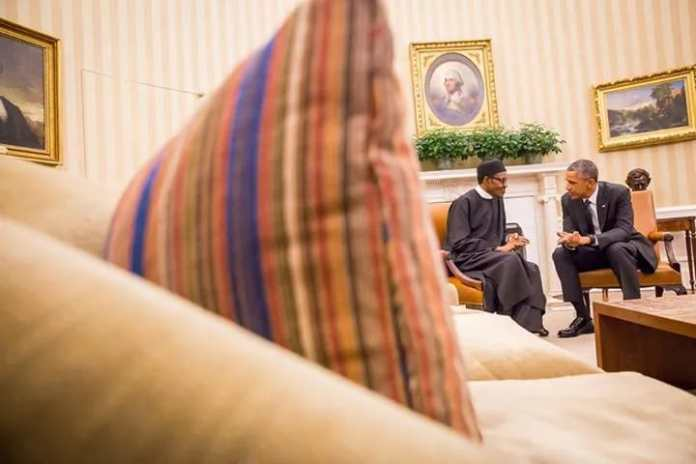 Buhari Obama meeting 7