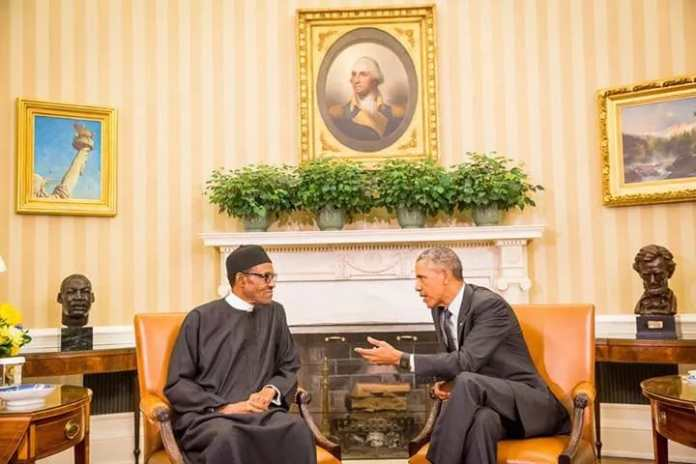 Buhari Obama meeting