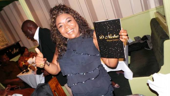 Nigerian Cuisine Restaurant D Niche Opens. Pictures by Bayo Oyekan